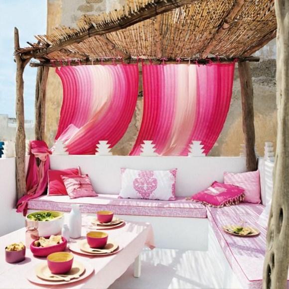 aménager d'une terrasse style marocain