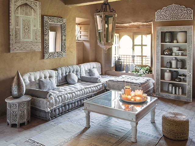 décoration de salon marocian