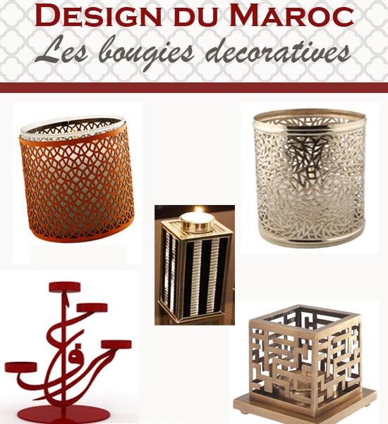 design marocain des bougies