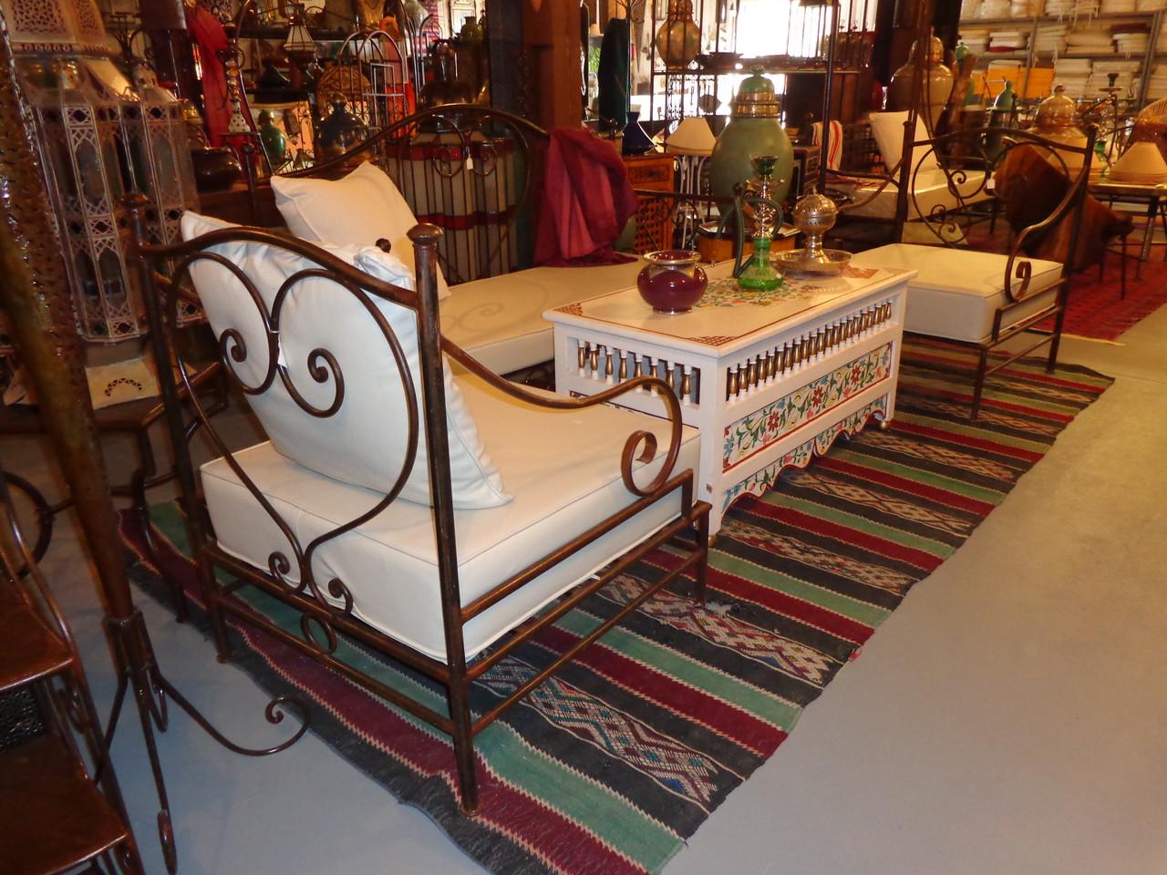 décoration magnifique de salon arabe