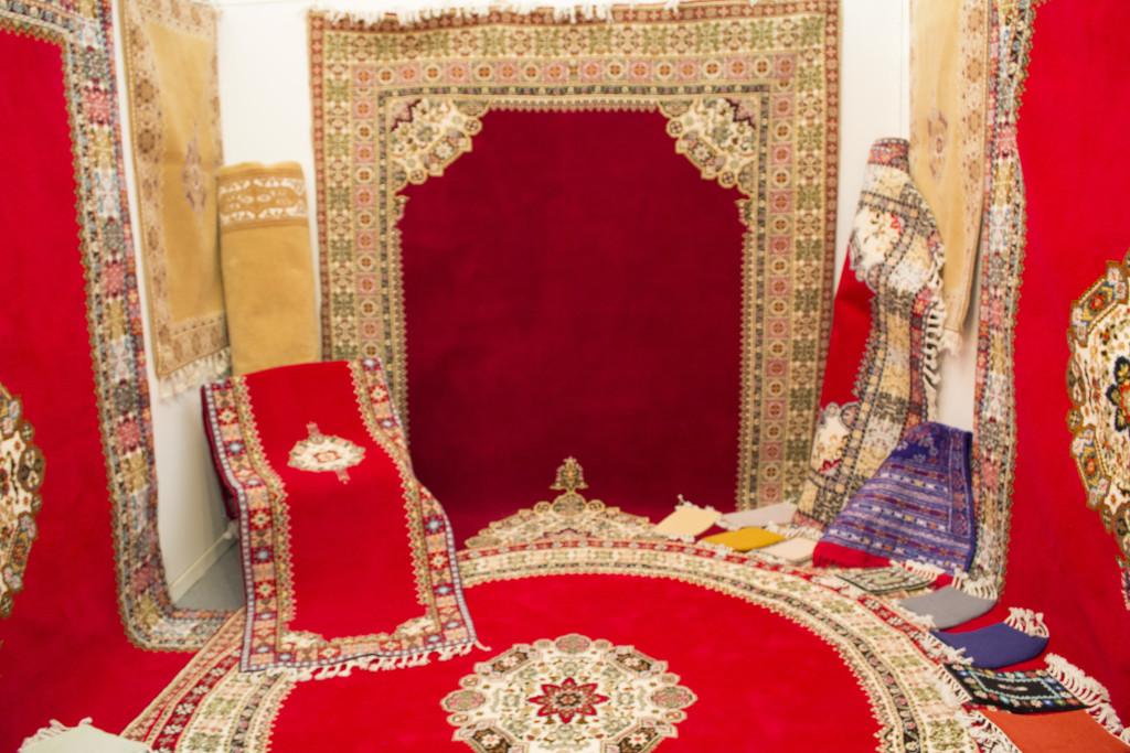 tapis byzantin moderne