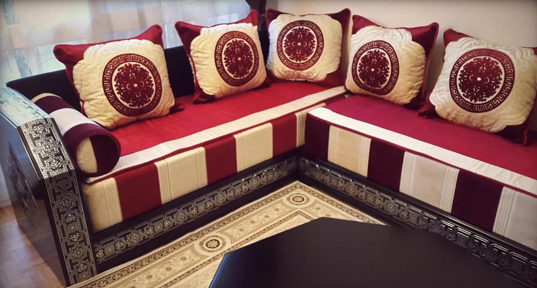 Salon moderne rouge simple salon moderne tunisie le mans for Objet deco rouge pour salon