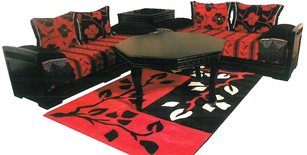 Table Rouge Et Noir Excellent Dcoration De Table En Rouge Et Noir