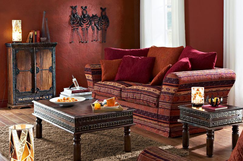 Salon Style Oriental : Salon marocain traditionnel design moderne