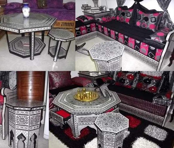 Achat de salon marocain prix moins cher d co salon marocain Decoration coin salon