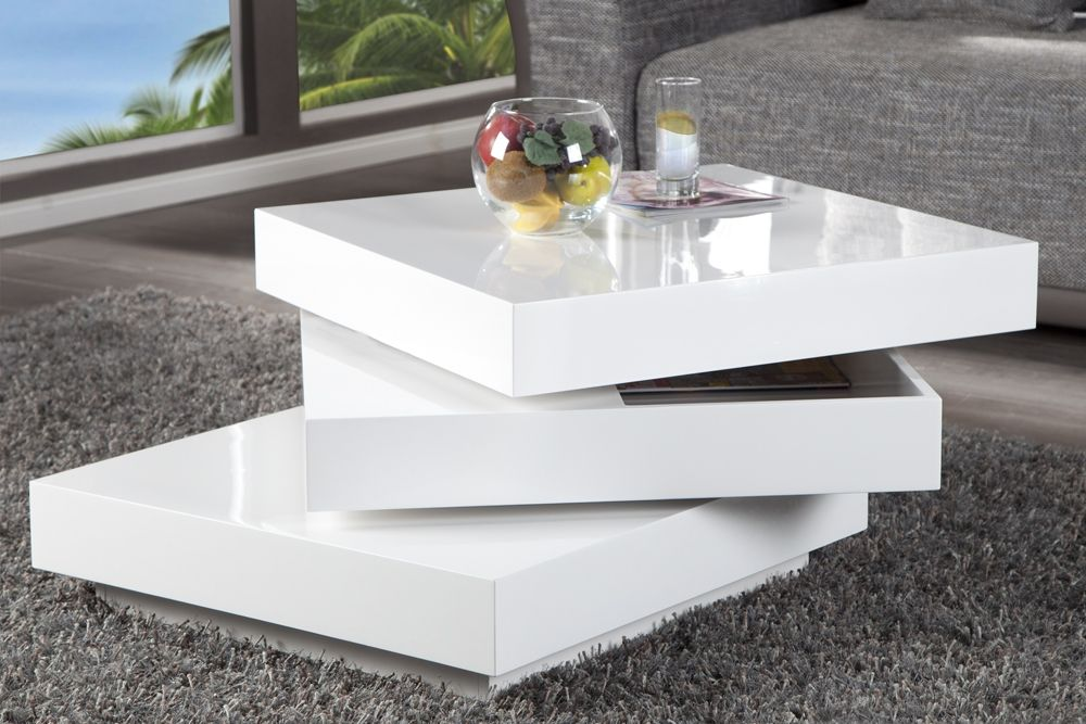 Table basse maison du monde orient express - Table basse design blanc ...