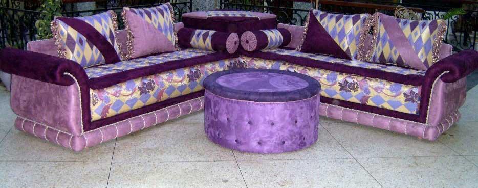 Salon Marocain Violet
