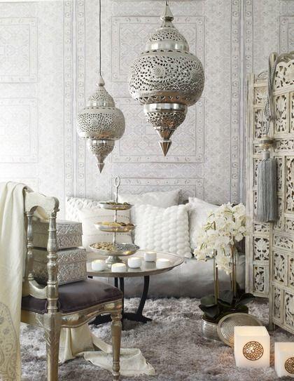 Salon Marocain Rabat : Poterie marocaine pour la décoration de salons déco
