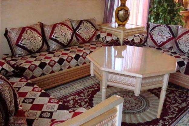salon marocian moderne