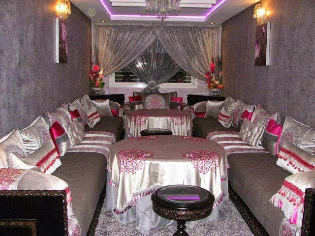 Stunning decoration salon marocain moderne 2016 images for Decoration salon 2016