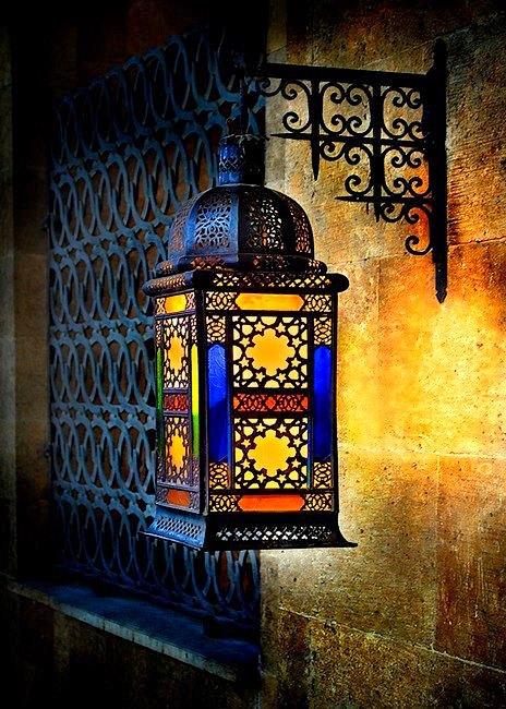 decoraion-excellente-du-lampe-pour-salon-marocain-traditionnel