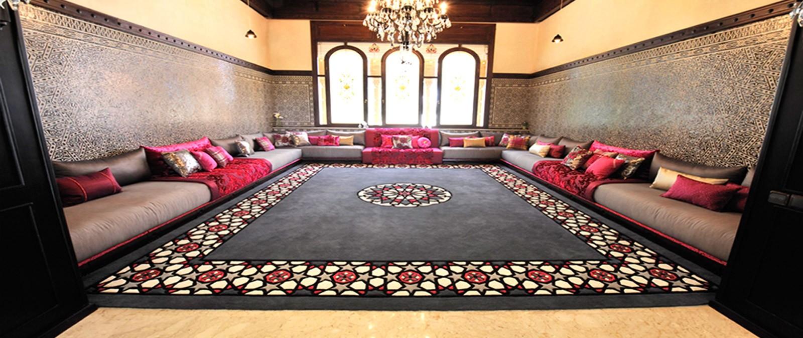 meilleur style du d cor traditionnel pour salon marocain d co salon marocain. Black Bedroom Furniture Sets. Home Design Ideas