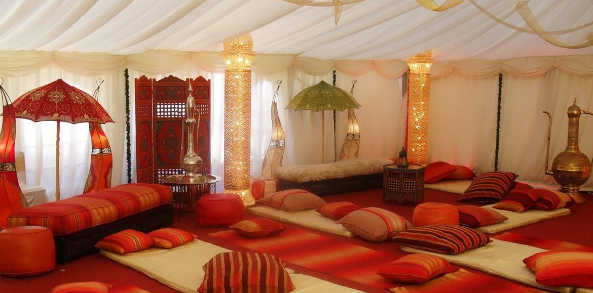 Meilleur style du d cor traditionnel pour salon marocain for Salon de the decoration