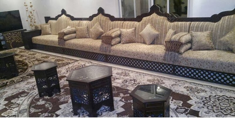 Vente de tissus salon marocain sur mesure d co salon for Tissu de salon marocain