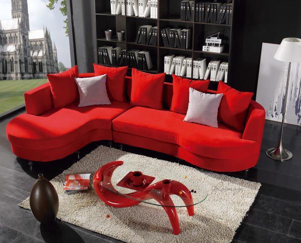 Canapés Salon Marocain Rouge