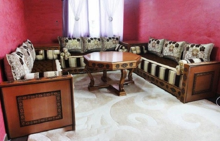 Vente salon marocain moderne à Nice - Déco salon marocain