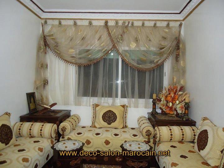Canapé salon marocain - Déco salon marocain