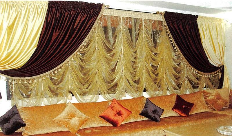 rideaux salon maroc - Déco salon marocain