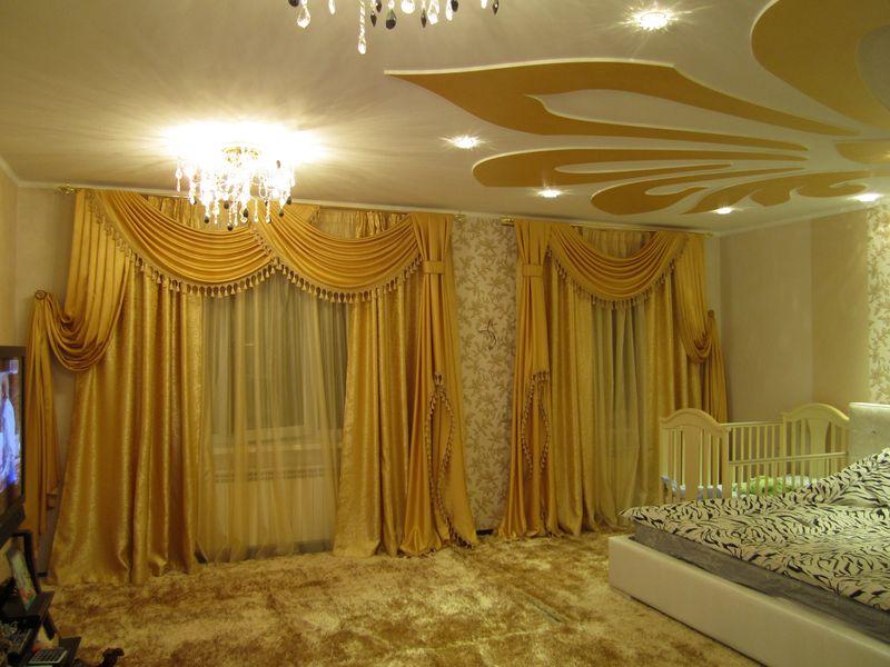 Les Rideaux Beldi 2017 : Modèles rideaux pour salon marocain oriental déco