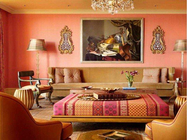 Fauteuil salon marocain - Déco salon marocain