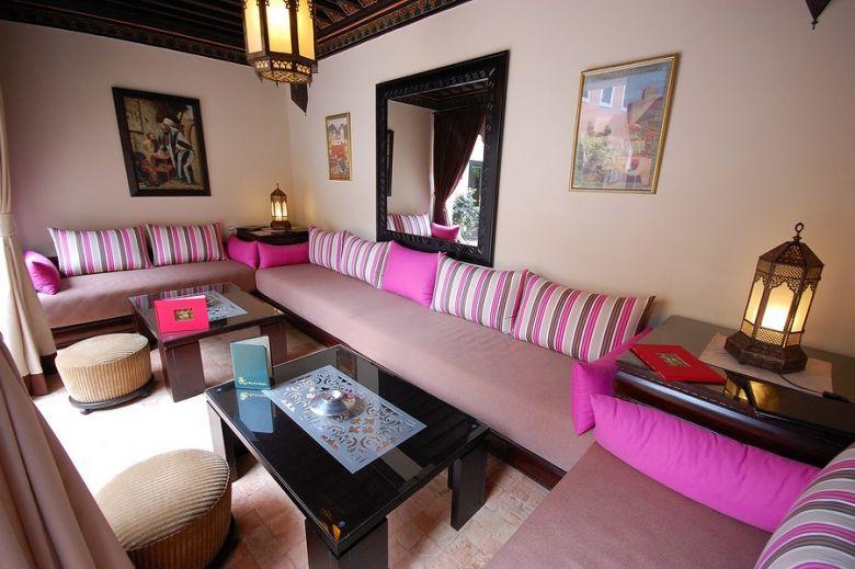 salon arabe - Déco salon marocain