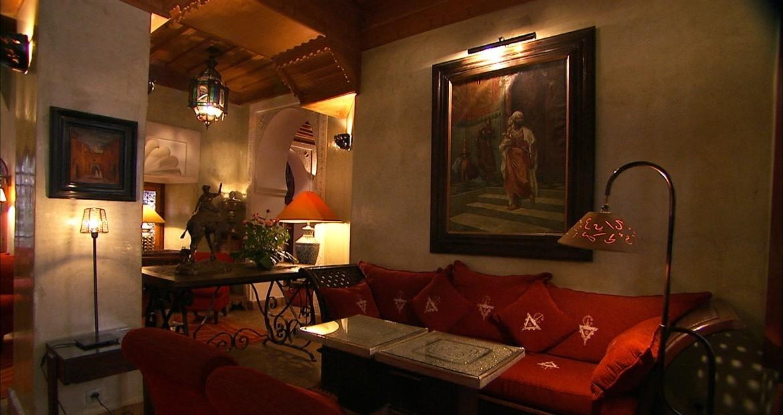 salon oriental - Déco salon marocain